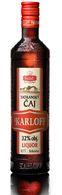 Tatranský čaj 32% Liquer 0,7l Karloff - vedomostná súťaž Sdružení Sběratelů alkoholových Miniatur (SSaM)